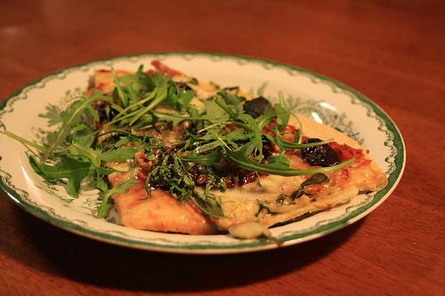 Egengjord pizza a la Lejonkulan